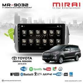 Headunit Android Innova Reborn 9 Inch WiFi Mirai MR 9032