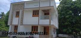 8 cent plot with 2200 sq.ft 4BHK house alattukavu