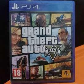 Kaset PS4 GTA  V Original disc bd PS 4