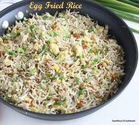 Need to cook biriyani  and evening egg rice and gobi
