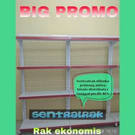 Pabrik Rak gondola promo  murah  minimarket