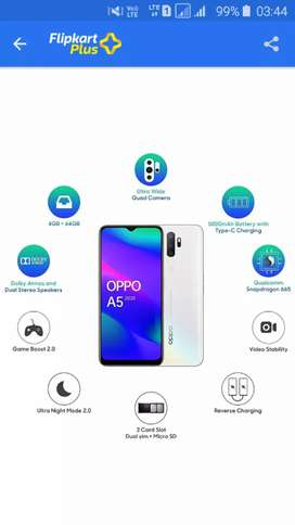 Oppo s5 2020 new only 1 day old urgent sale