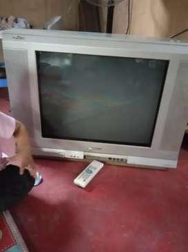 TV 21 inci merk Sharp