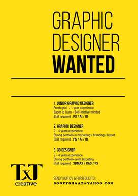 Looking for a Designer