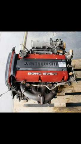 EVOLUTION 4 4G63 ENGINE HEAD + Block