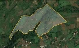 Dijual Tanah Seluas ± 3 hektare di Jl Gadog Sisi, Ciapus, Bogor