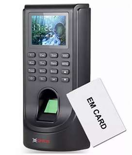 Fingerprint biometric card punch time attendance machine with software