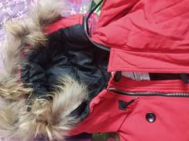 """RED PHLUFFY JACKET FOR MEN """" LARGE SIZE"""""""