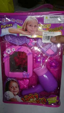 Mainan anak hairdryer set baru yah