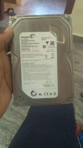 Seagate Hard disk Internal 500GB Sata HDD