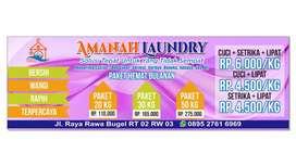 Amanah Laundry (KILOAN & SATUAN)