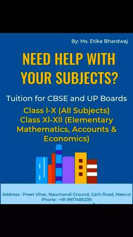 Tuitions classes