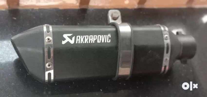 AKRAPOVIC diff 0