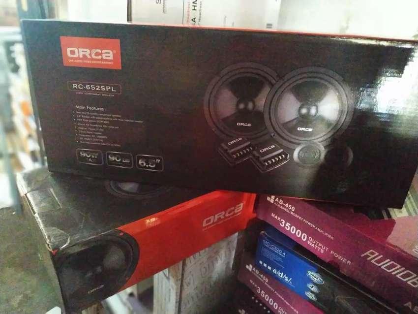 Split 2way componen speaker 0