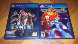 Kaset Game PS4 Jump Force & Megaman X