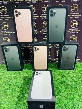 Iphone 11 pro 64gb/256gb — 1 year warranty — gst bill —