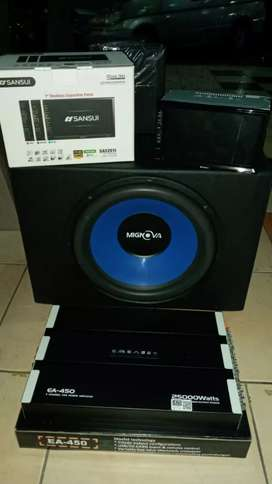 Paket sansui plus power subwoofer
