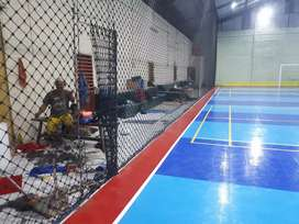 Lapangan futsal interlcok paket lengkap