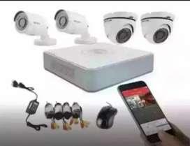 Hikvision paket 4 Channel 2Mp Lebih Hemat Dan Irit Bangettt