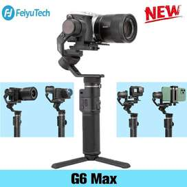 Feiyu G6 Max 3-Axis Gimbal For Smartphone - Mirrorless - Action Cam