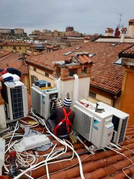 AC sarvice and repair and amc and rent split and windows