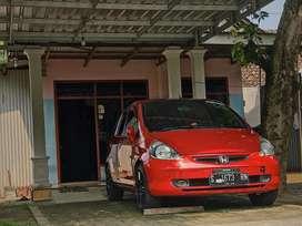 Turun Harga , Honda Fit/Jazz 2003 Warna Merah PAJAK HIDUP