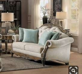 Perfect Carving design Sofa set with 5 years of warranty