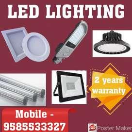 LED lighting - 2 years warranty