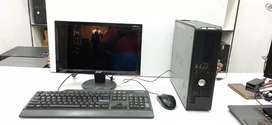 Dell Full set CPU and Monitor