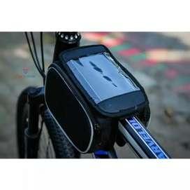 Tas Sepeda Touchscreen Waterproof Tas Stang Sepeda lipat mtb universal