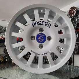 Velg Sparco R15x7.0 h4x100 et38 untuk mobil Datsun sirion ignis Ayla