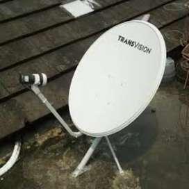 Berlangganan super murah parabola Transvision HD resmi hanya 420 ribu