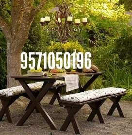 Direct factory to consumer solid wooden furniture garden furniture