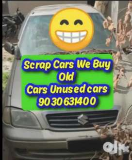 Unused Scrap Cars We Buy any Old Carss