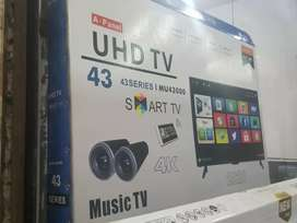 LOOKING 43INCH SMART WIFI ANDROID 4K  RS25500
