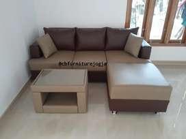 Soffa tamu L custom, warna oscarr