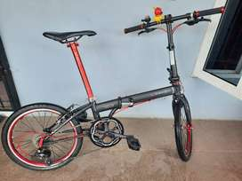 Sepeda Dahon Speed 8 Full Upgrade 9 Speed