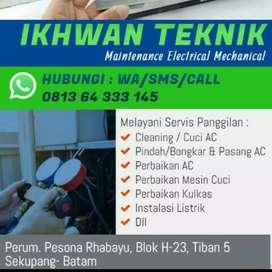Jasa servis Ac dan Instalasi listrik