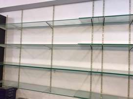 Mirror shelfs raking and fitting for sale