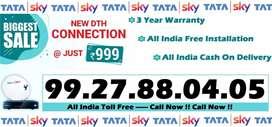 Tata Sky connection - All India COD