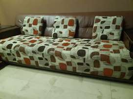 Sofa set for sale 5 seater (3+1+1)