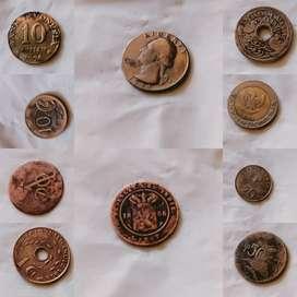 Borongan Uang koin kuno