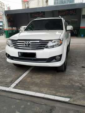 Fortuner G Manual Diesel 2012