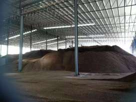 Di jual cangkang sawit ready 5000 t