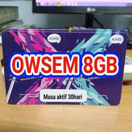 Voucher Axis Owsem 8GB