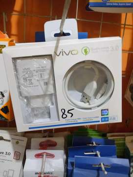 Charger vivo original 3amper 100% tipe baru micro usb fast charger