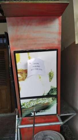 Booth Rombong Bekas