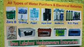 AC ,R O,Gysers,,,inverter,Batteries, sales&sevice