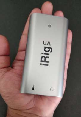 Rarely Used iRig UA - Android Effect Processor / Audio Interface