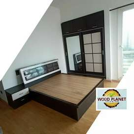Brand new bedroom set on Bajaj Finance EMI